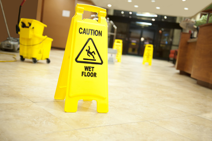 Is Your Ceramic Tile A Safety Hazard Grime Stoppers - Slick tile floors
